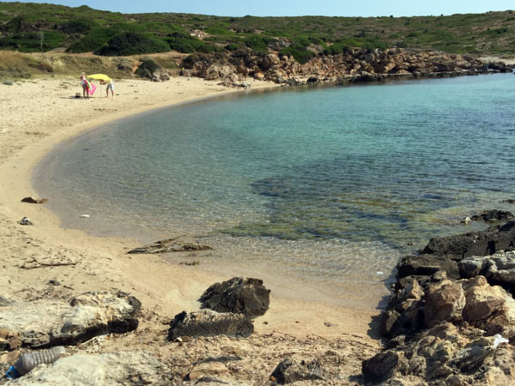 Mermerburun, Akvaryum Plajı