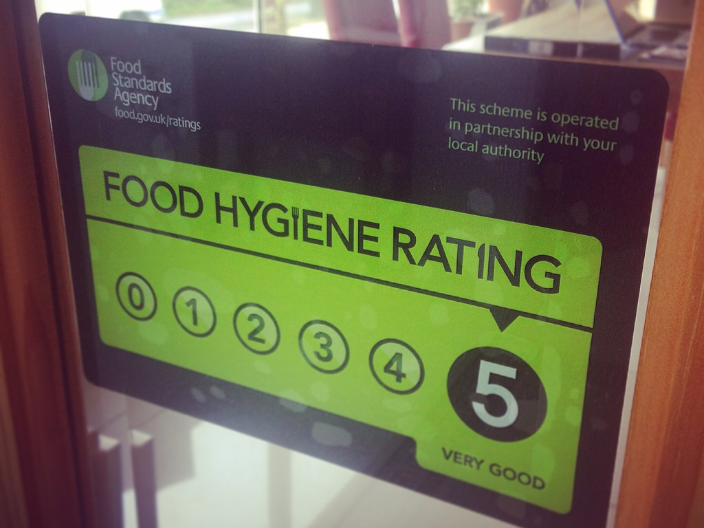 The View at 37 Bed & Breakfast - Food hygiene rating